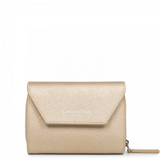 Lancaster Saffiano Timeless Wallet 121-29 Champagne