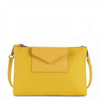 Lancaster Smart Kba Small Crossbody Bag 2 compartments 516-27 Yellow