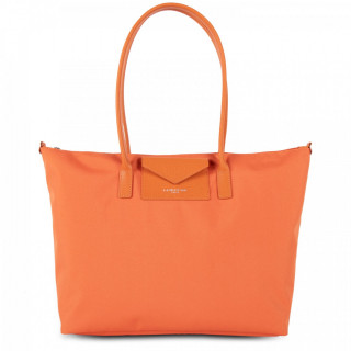 Lancaster Smart Kba Grand Sac Cabas Porté Épaule 516-31 Orange