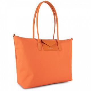 Lancaster Smart Kba Grand Bag Cabas Worn Shoulder 516-31 Orange