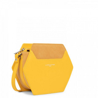 Lancaster Vendôme Hive Small Crossbody Bag 432-50 Yellow