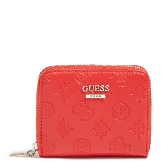 Guess Dayane Wallet Compact Red