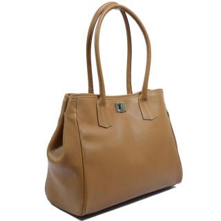 Berthille Elisa Bag Shopping Seed Cuero