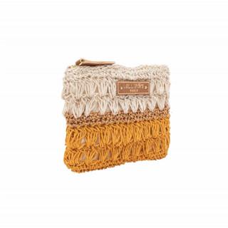 Lollipops Hadele Gold-Golden Yellow Crochet Wallet