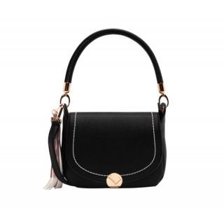 Lollipops Helia Messenger Bag Timeless Black-Golden