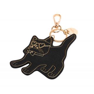 Lollipops Hicare Key-Key Black-Golden Cat