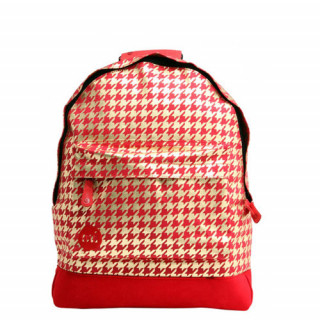 "Mi pac Premium Sac à dos PC 14"" Houndstooth Red Gold"