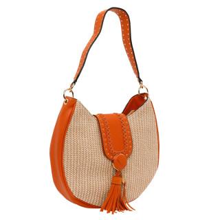 Lollipops Hoze Bag Hobo Orange-Golden Basket