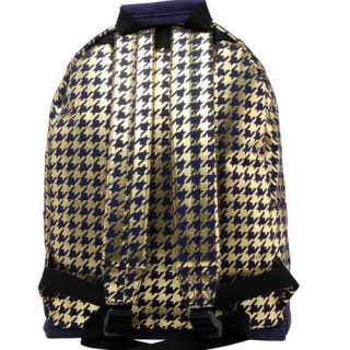 "Mi pac Premium Sac à dos PC 14"" Houndstooth Navy Gold"