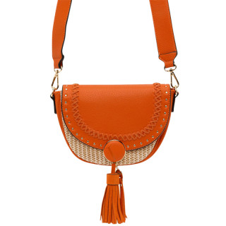 Lollipops Hoze Petit Bag Orange-Golden Basket