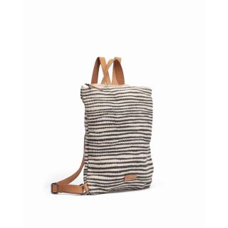 Biba Zanzibar Azul Stripes Back Bag