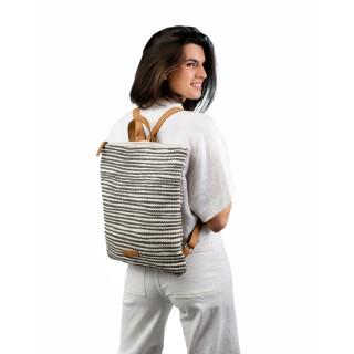 Biba Zanzibar Ochre Stripes Backpack