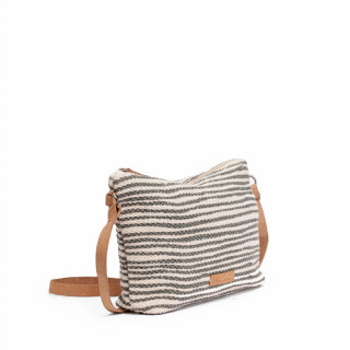 Biba Zanzibar Azul Stripe Pocket Bag