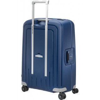 Samsonite S'Cure Spinner 69 cm Suitecase Trolley 4 Dark Blue Wheels