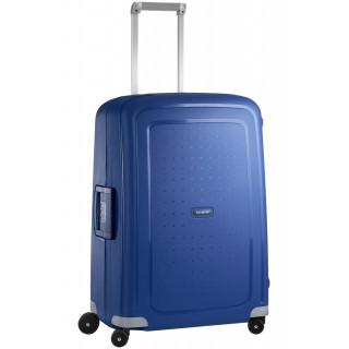 Samsonite S'Cure Spinner 69 cm Valise Trolley 4 Roues Bleu Foncé