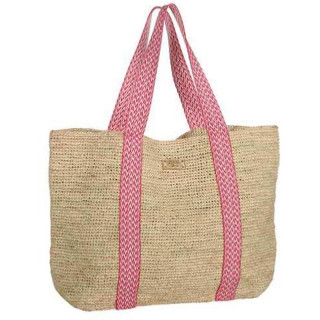 L'atelier Du Crochet Cabavana Rose Crochet Cabas Bag