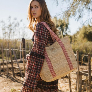 L'atelier Du Crochet Bag Cabas Crochet Cabavana Red