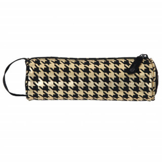 Mi Pac Cases Trousse Houndstooth Black Gold