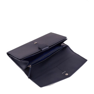 Le Tanneur Charlotte Wallet And Door Checkbook Twilight