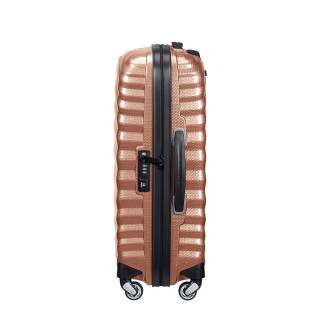Samsonite Lite-Shock Suitecase Cabin 55cm 4 Wheels Copper Blush