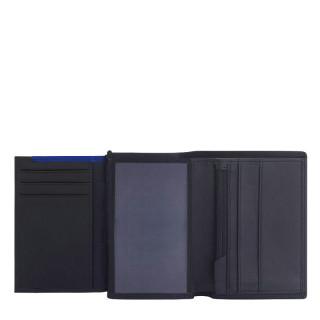 Le Tanneur Martin Petit Wallet Vertical 2 Shutters Black