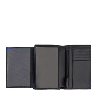 Le Tanneur Martin Grand Wallet Vertical 2 Black Shutters