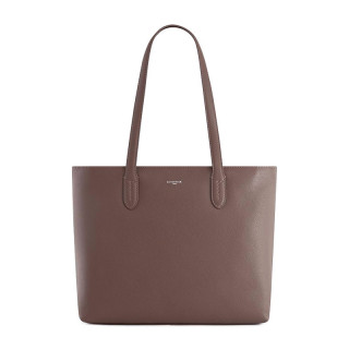 Le Tanneur Sophie Bag Cabas in Taupe Leather