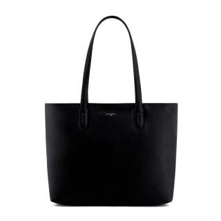 Le Tanneur Sophie Bag Cabas in Black Leather