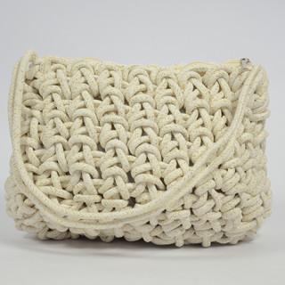 Le Voyage En Panier Cordaline Bag Shoulder Cord White Rope