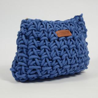 Le Voyage en Panier Cordaline Sac Epaule Corde Bleu