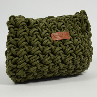 Le Voyage En Panier Cordaline Bag Shoulder Rope Khaki Rope