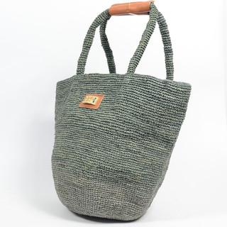 L'atelier Du Crochet Bag Cabas Crochet Bolgoa Grey