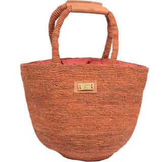 L'atelier Du Crochet Bag Cabas Crochet Bolgoa Rust