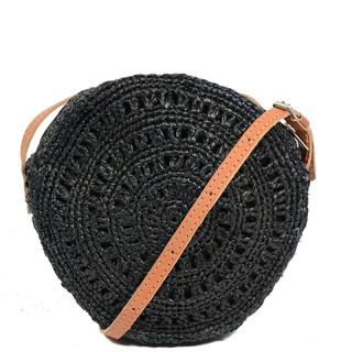 L'Atelier du Crochet Sac Trotteur Rond Collimoa Noir