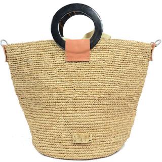 L'atelier Du Crochet Bag Cabas Crochet Cornely Tea