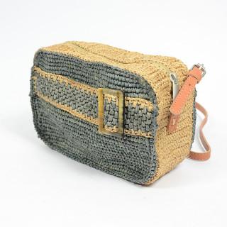 L'Atelier du Crochet Sac Trotteur Cube Radoa Gris