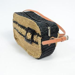 L'Atelier du Crochet Sac Trotteur Cube Radoa Thé Noir