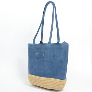Le Voyage En Panier Bag Cabas Dolce Blue
