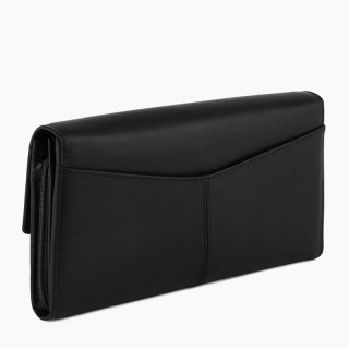 Le Tanneur Charlotte All-in-One Companion In Black Leather