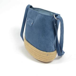 Le Voyage En Panier Vita Crossbody Bag Blue