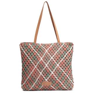 Biba Aruba Bag Shopping Braid Rosa
