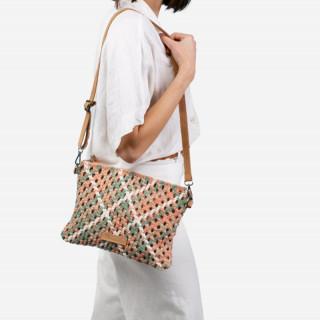 Biba Aruba Crossbody Bag Braid Rosa