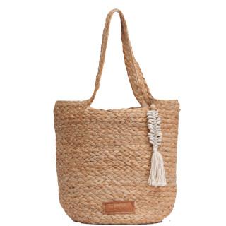 Biba Bora Bora Cabas and Braided Beach Bag S Natural