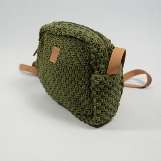 Biba Dominica Crossbody Bag Braid Kaki
