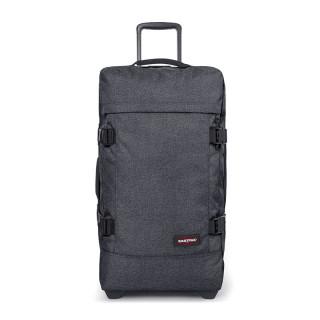 Eastpak Strapverz M (TSA) Luggage and Backpack 77h Black Denim
