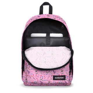 """Eastpak Out Of Office Backpack 15"""" k44 herbs pink"""