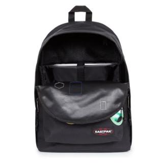 "Eastpak Out Of Office Backpack 13"" Laptop k50 Patched Black"
