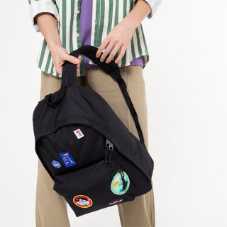"""Eastpak Out Of Office Sac à Dos 13"""" k50 Patched Black"""