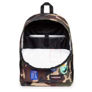 Eastpak Out Of Office Sac à Dos 13  k52 Patched Camo