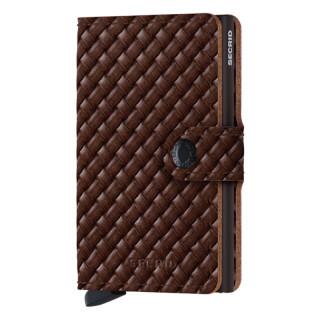 Secrid Card Holder Miniwallet Basket Brown